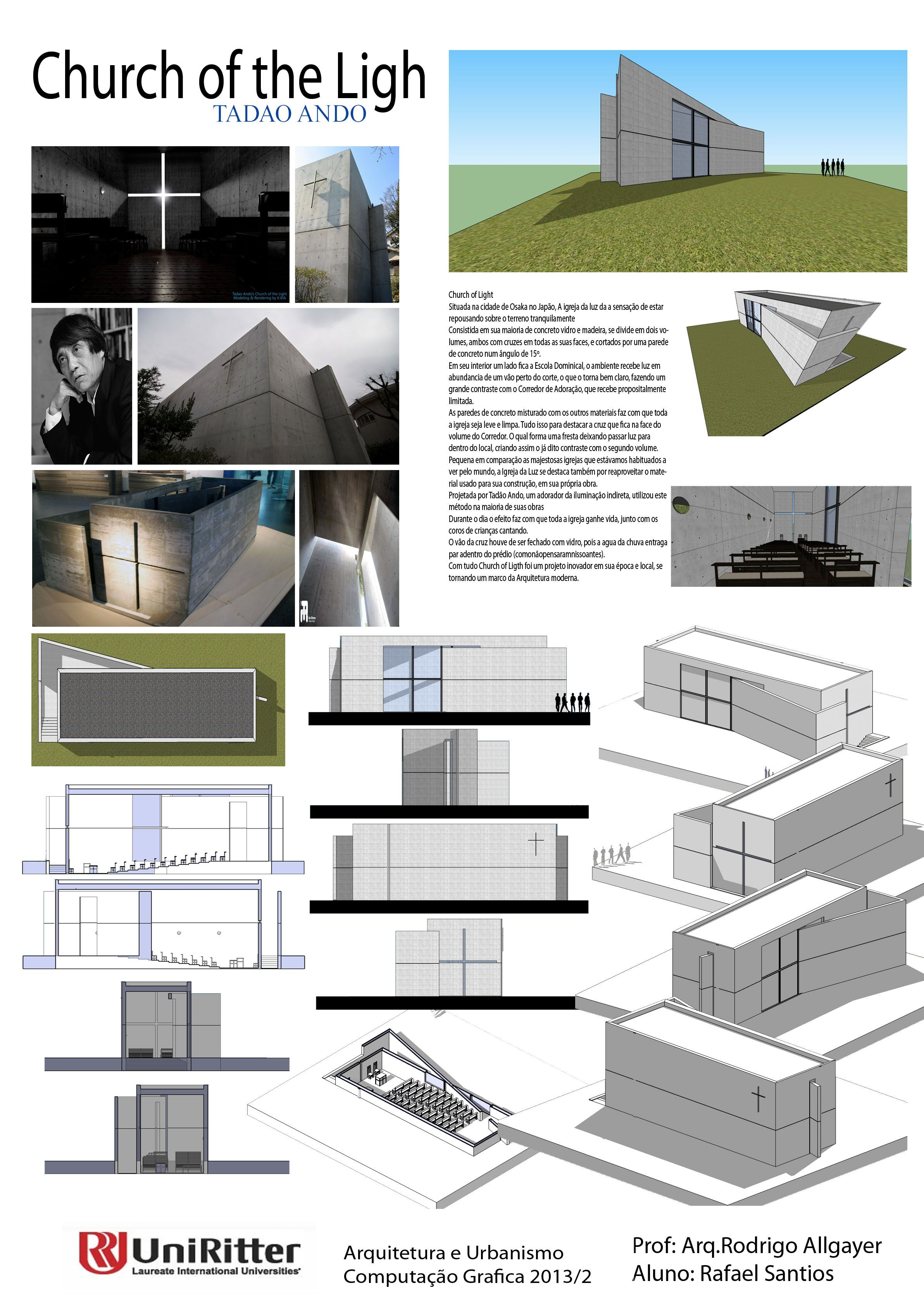 Ando tadao rokko house pinterest - Church Of The Light Tadao Ando