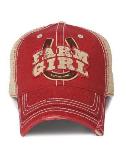 aa28ca0faa Farm Girl Horseshoe 2 Mesh Cap at Amazon Women s Clothing store  Baseball  Caps