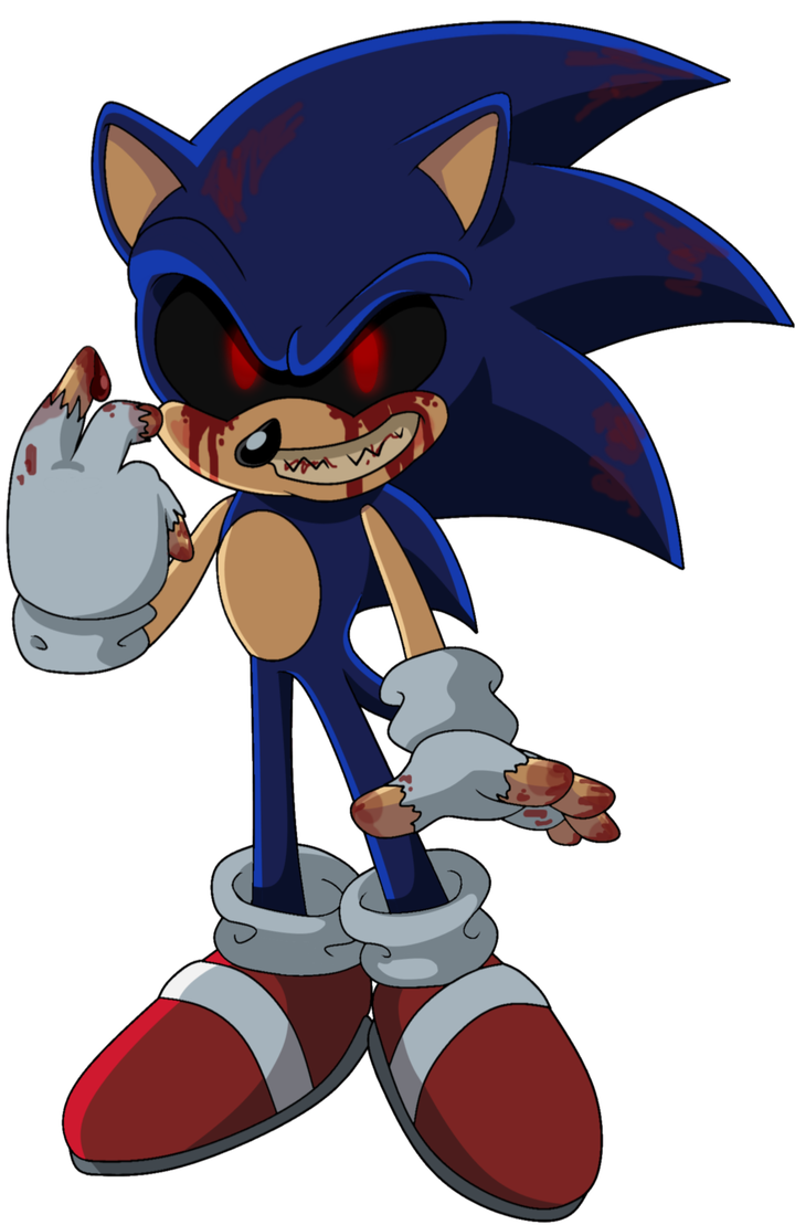 Sonic Exe By Theleonamedgeo On Deviantart Desenho Caveira Colorir Anime
