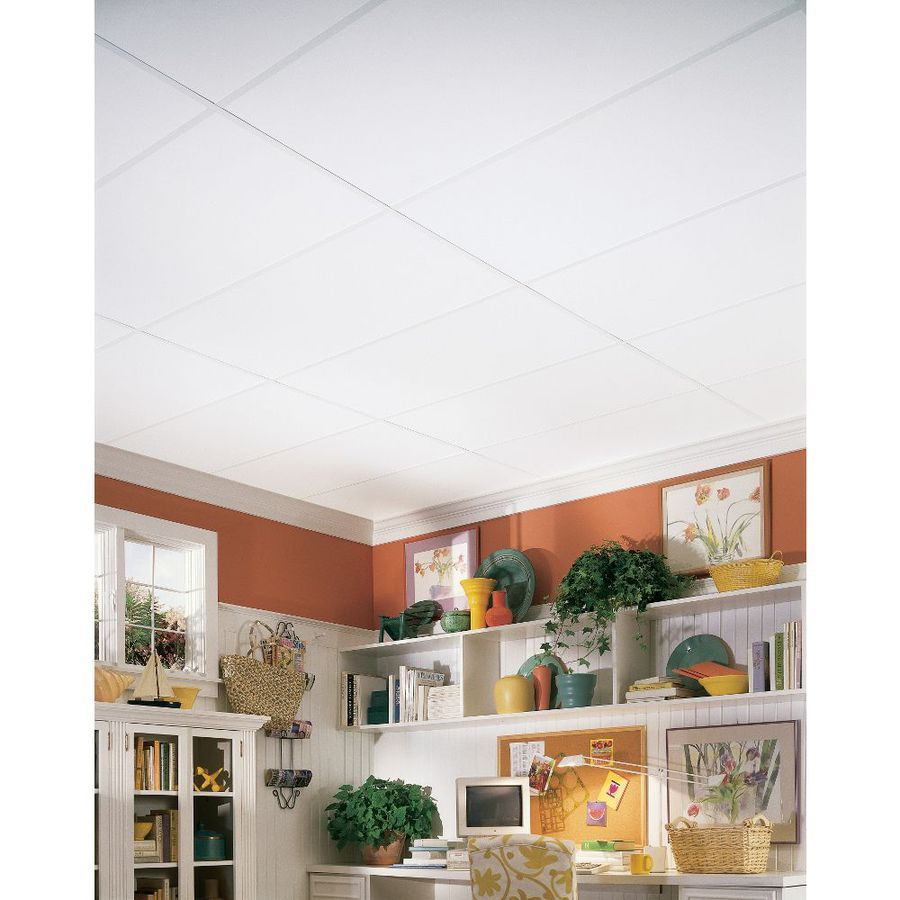 Wonderful 12X12 Ceiling Tiles Home Depot Thin 2X2 Black Ceiling Tiles Solid 2X2 Drop Ceiling Tiles 3 X 6 Subway Tile Young 3X3 Ceramic Tile Orange3X6 Travertine Subway Tile Backsplash Shop Armstrong 8 Pack 24 In X 48 In Plain White HomeStyle Ceiling ..