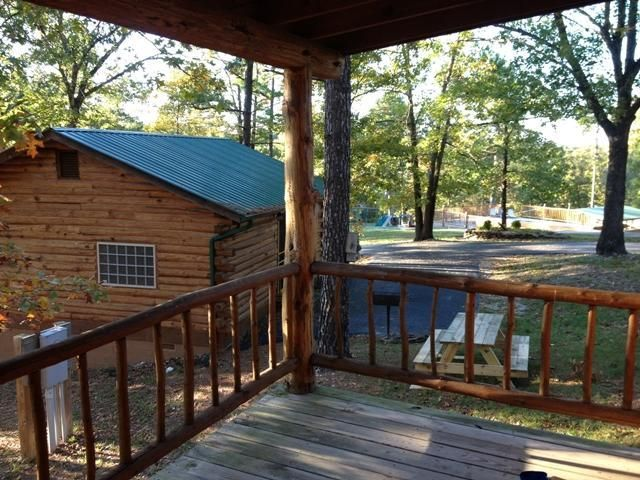 1 bedroom Cabin Rental in Eureka Springs from $125/nt - Wild Plum ~ Small Log Cabin #2