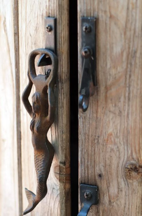An entry from emilialua mermaid doors and door knobs - Mermaid door knocker ...