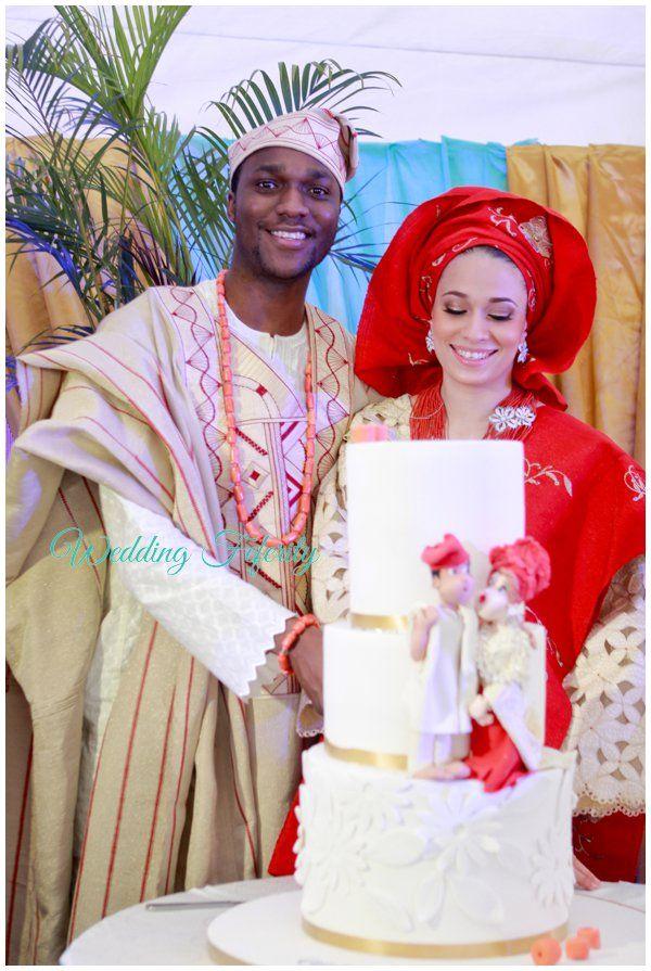 Yoruba Traditional Wedding Cake