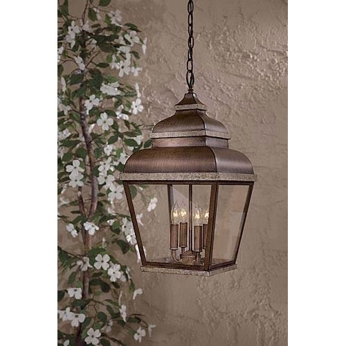 Minka-Lavery Great Outdoors Mossoro Indoor-Outdoor Hanging Lantern ...