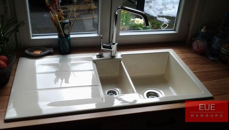 Keramikspüle Genea 100 - spülbecken küche keramik