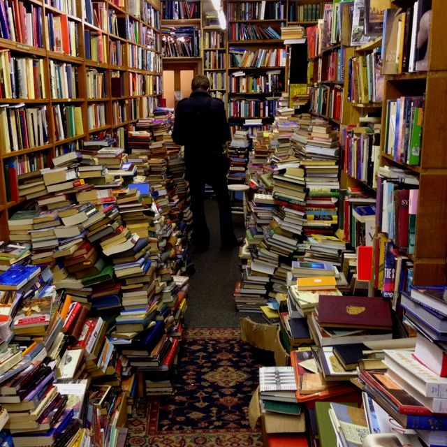 One Of The Coolest Used Bookstores I Went To In Glasgow Scotland