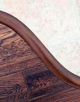 Curved T Molding Transition Flooring Installing Hardwood Floors