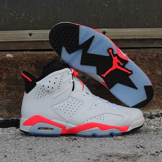 """Air Jordan 6 Retro – """"White Infrared""""  dc0590a371"""