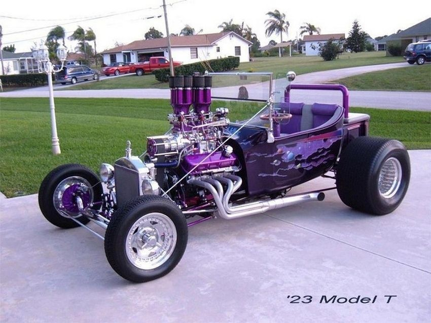 1923 Ford Blown T Bucket Hot Rods Cars Hot Rod Trucks Slammed Cars
