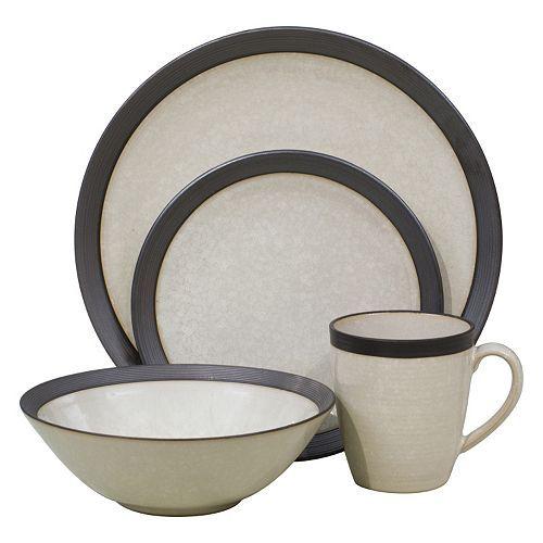 Sango Omega 16-pc. Dinnerware Set, White | Dinnerware, Serveware and ...