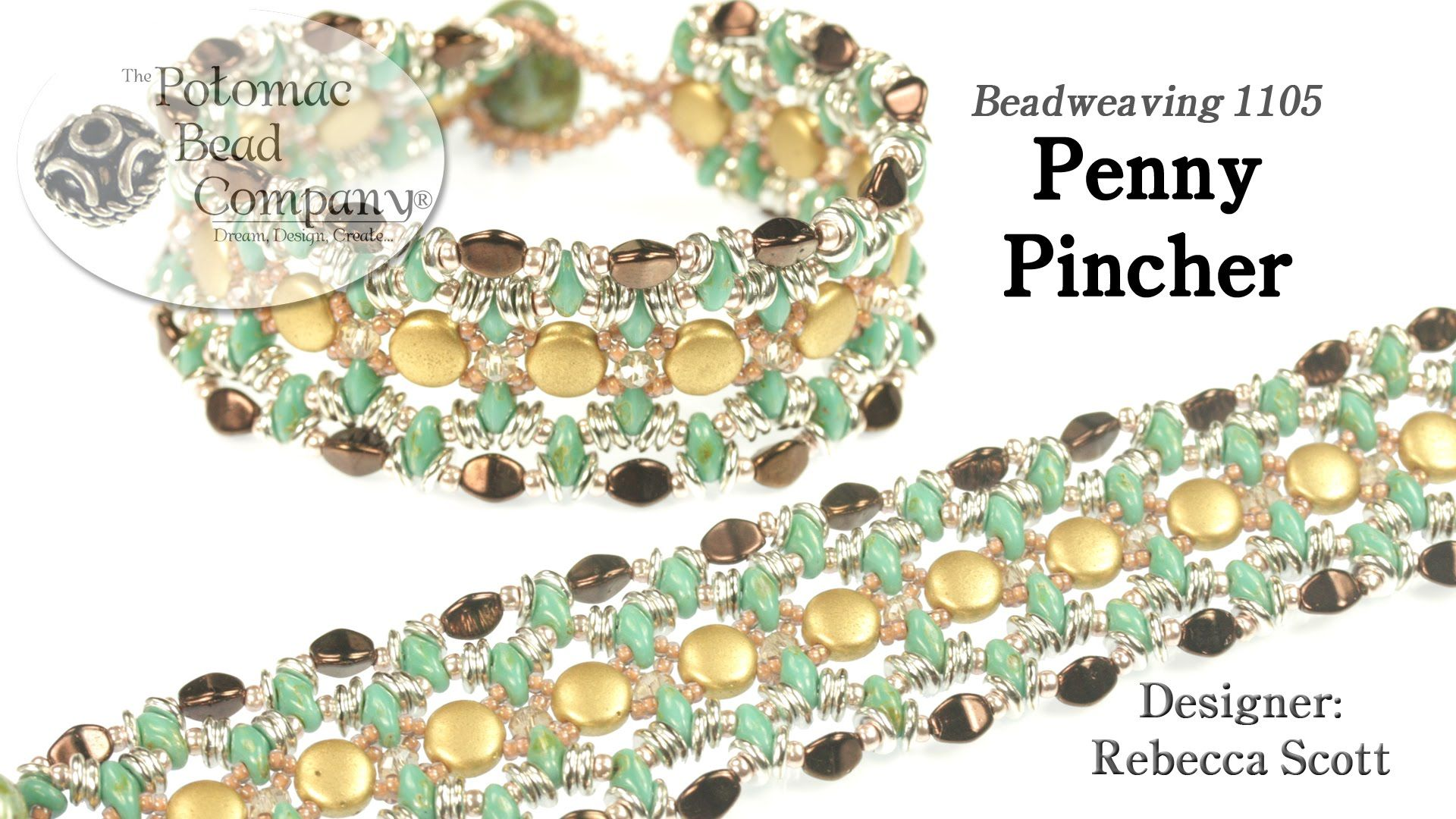 This video tutorial from the potomac bead company teaches you how to