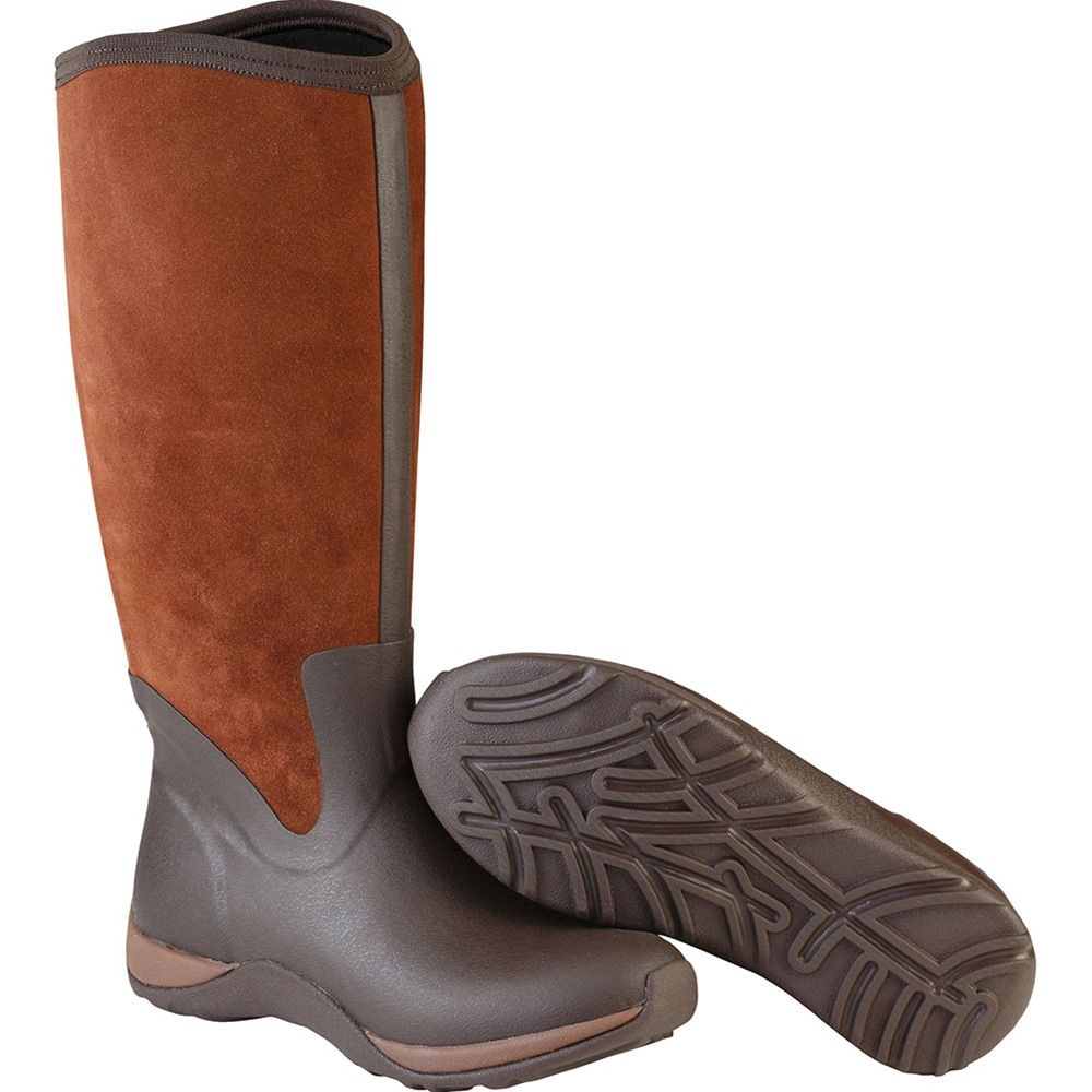 Arctic Adventure Zip Suede, Womens Rain Boots The Original Muck Boot Company