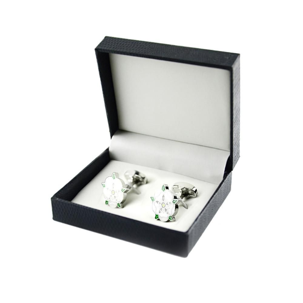 Mens Wedding Party Gift Cherry Blossoms Cufflinks With Box   Products