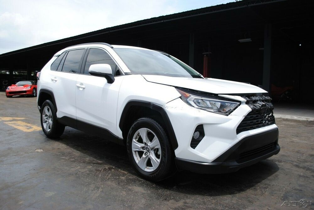 2019 Toyota Rav4 Xle Clean Title Damaged Repairable Wrecks