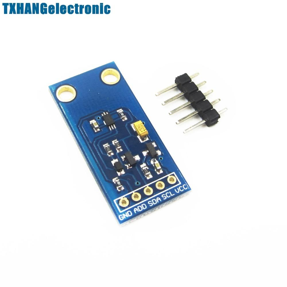 Integrated Circuits Gy 30 Bh1750 Bh1750fvi Chip Light Intensity Electronic Components As Sensor Illumination Module