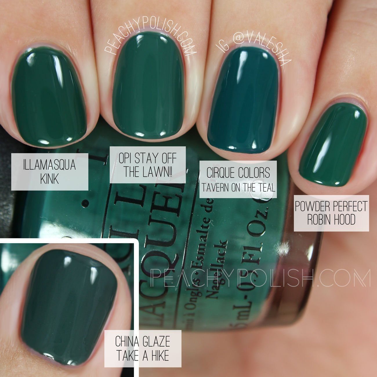 OPI Stay Off The Lawn!! | Washington D.C. Collection Comparisons ...