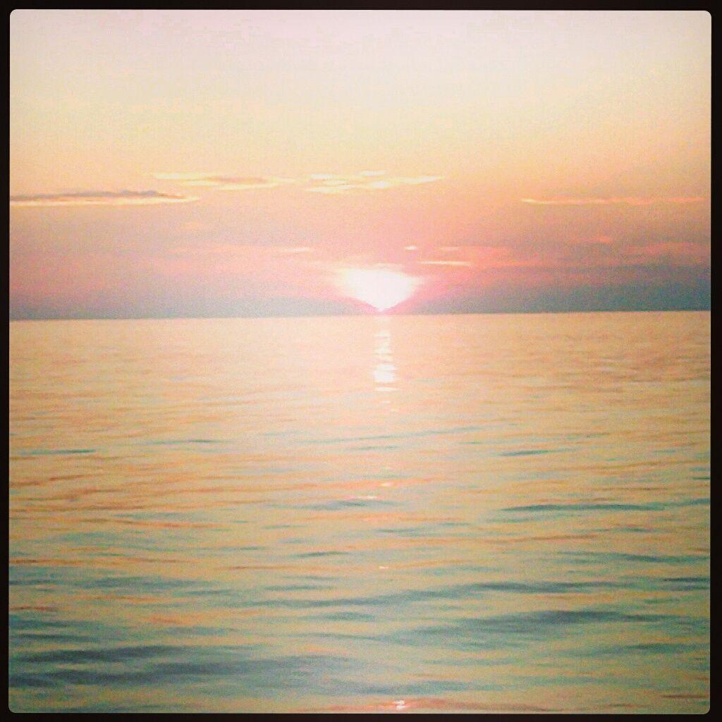 #sunset taken from ship