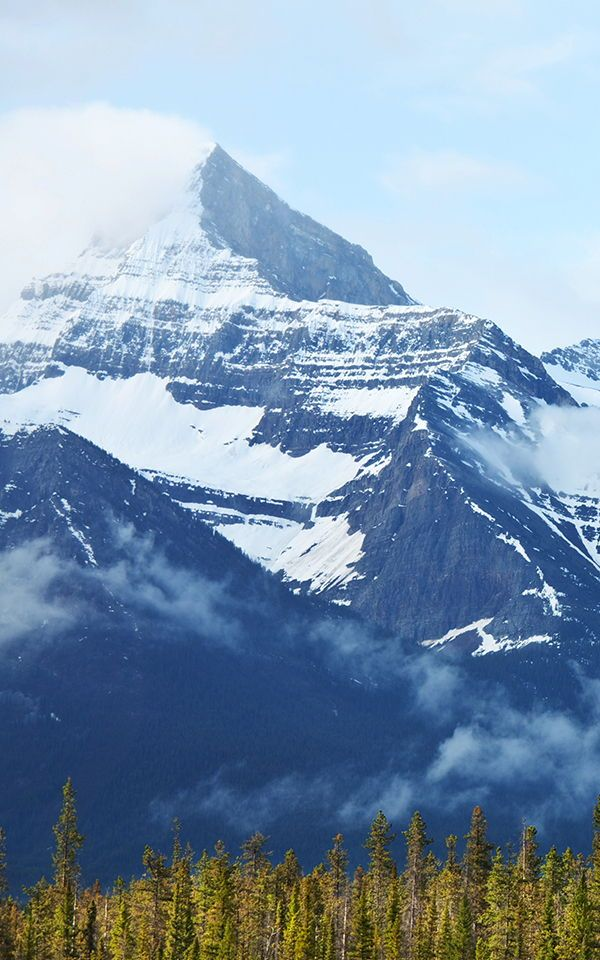 Canadian Mountains Wallpaper Mural Landscape wallpaper