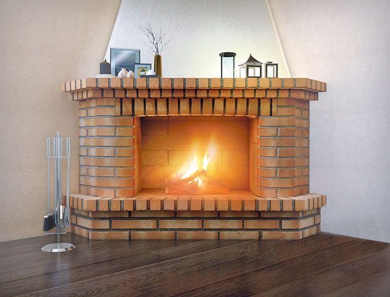 Revestimiento chimenea saliente movelar toscana ref - Revestimientos de chimeneas rusticas ...