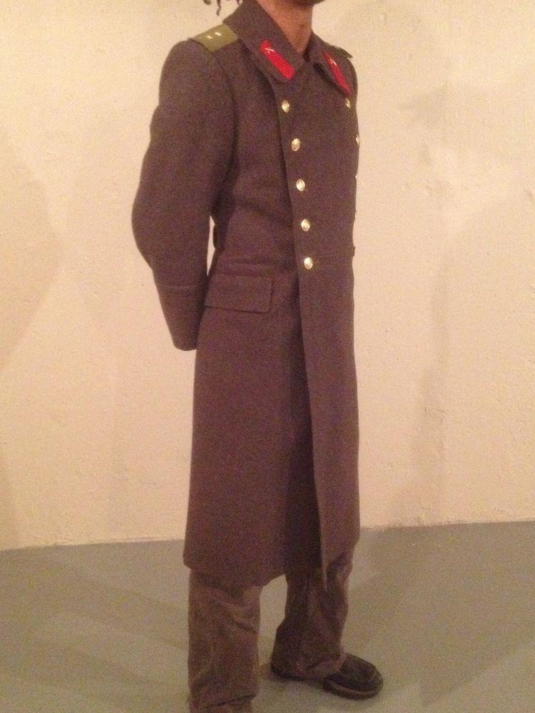 Winning bid  US  70.00 Wool vintage Russian military parade coat overcoat  surplus 1079e25fe