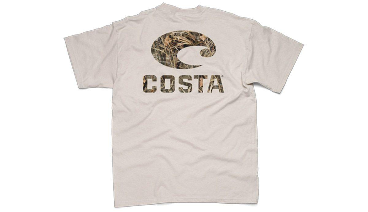 e3172f705b7c Costa Del Mar Realtree Max-4 Camo Logo T-shirt - Southern Clothing ...