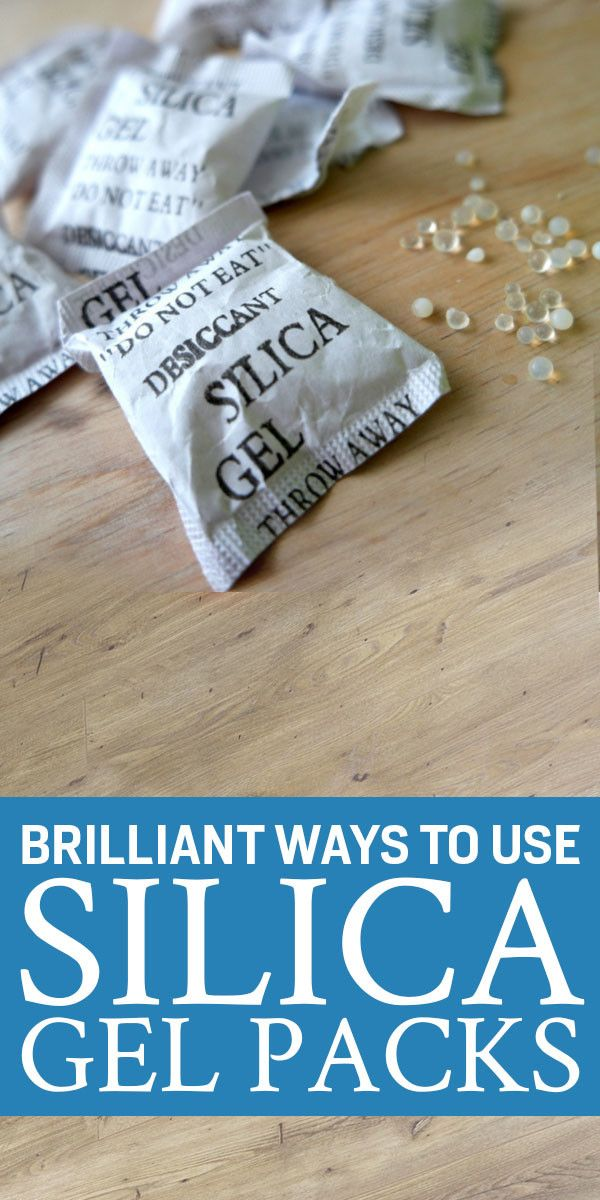 Great Things To Do With Those Silica Gel Packs Instead Of
