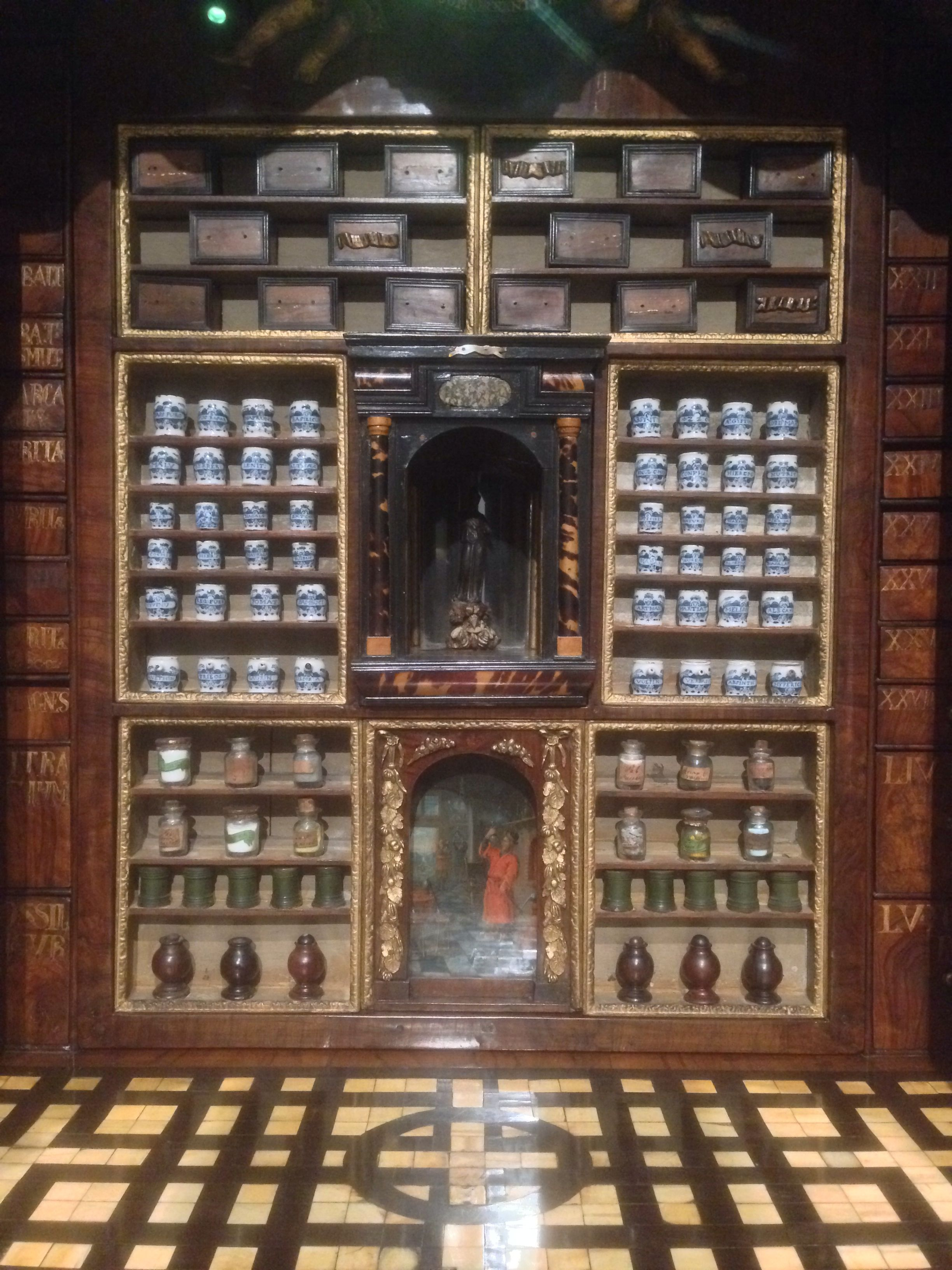 Collector's Cabinet from 18th Century at Rijksmuseum