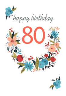Birthday Party Ideas For 80 Year Old Women Presents