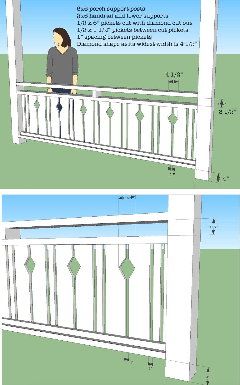 Learn How To Build Your Own Flat Sawn Baluster Railings