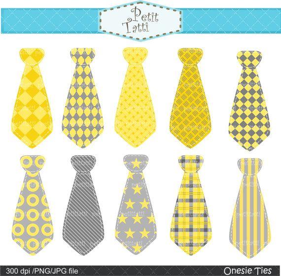 Gray Tie Clip Art