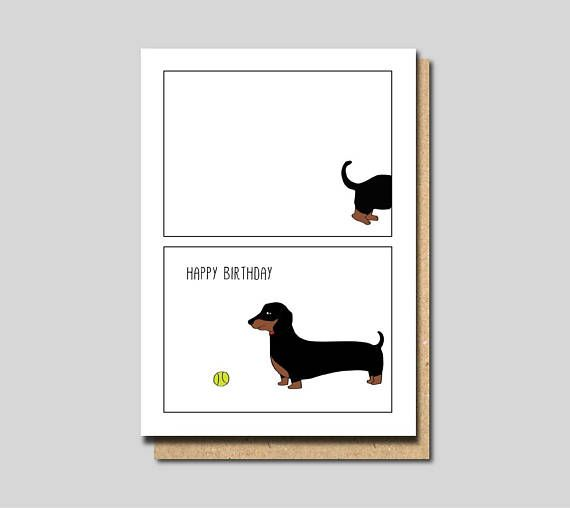 Dog Birthday Card Funny Friend For Mum