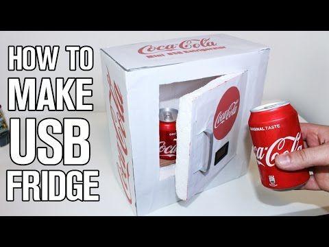 Mini Kühlschrank Mit Usb : How to make a mini refrigerator low cost diy youtube
