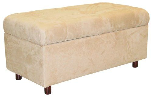 Special Offers - Belden Tufted Storage Bench by Skyline Furniture in Oatmeal Micro-suede - In stock & Free Shipping. You can save more money! Check It (April 17 2016 at 11:21AM) >> http://sectionalsofasxl.net/belden-tufted-storage-bench-by-skyline-furniture-in-oatmeal-micro-suede/