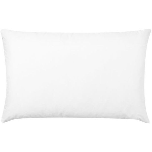 Pottery Barn Pillow Inserts Delectable Pottery Barn Freshness Assured Feather Pillow Insert $20 ❤ Liked Design Inspiration