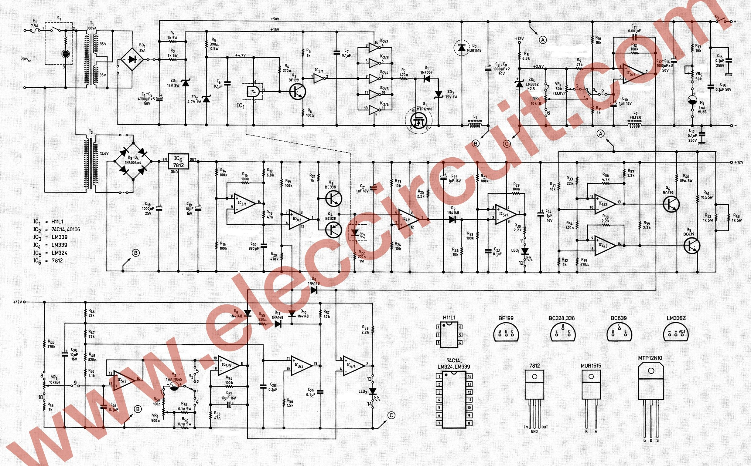 the-full-circuit-diagram-of-0-45V-8A-switching-power-supply.jpg ...