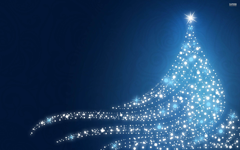 Blue Christmas Tree Backgrounds Blue Christmas Tree