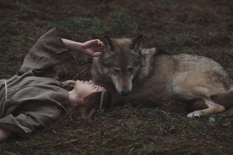 Олечка и волк Драго (с изображениями) | Вдохновляющие ...