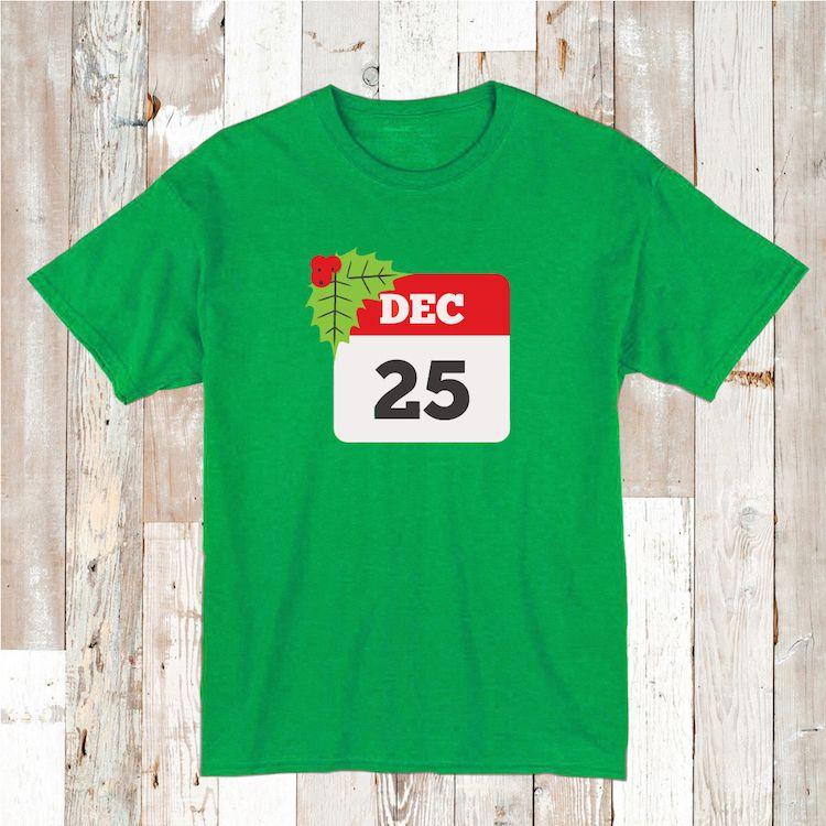 December 25 Custom Shirt Tee Tees _ Christmas Shirt _ Custom Tees_ ...