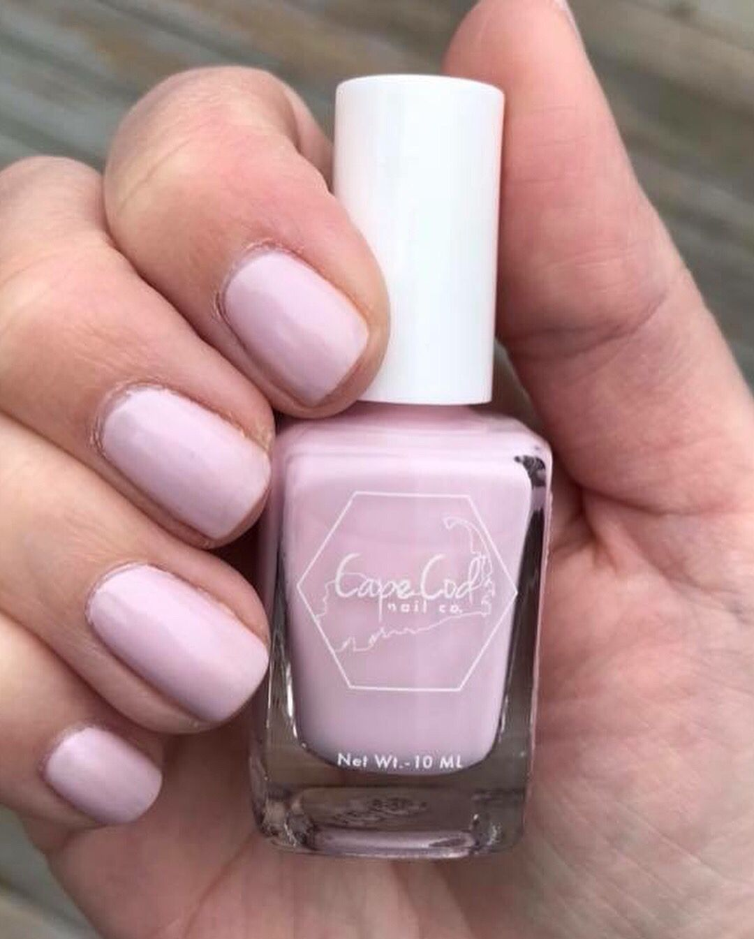 Not too pink, not too white! Nails & co, Nail polish, Pink