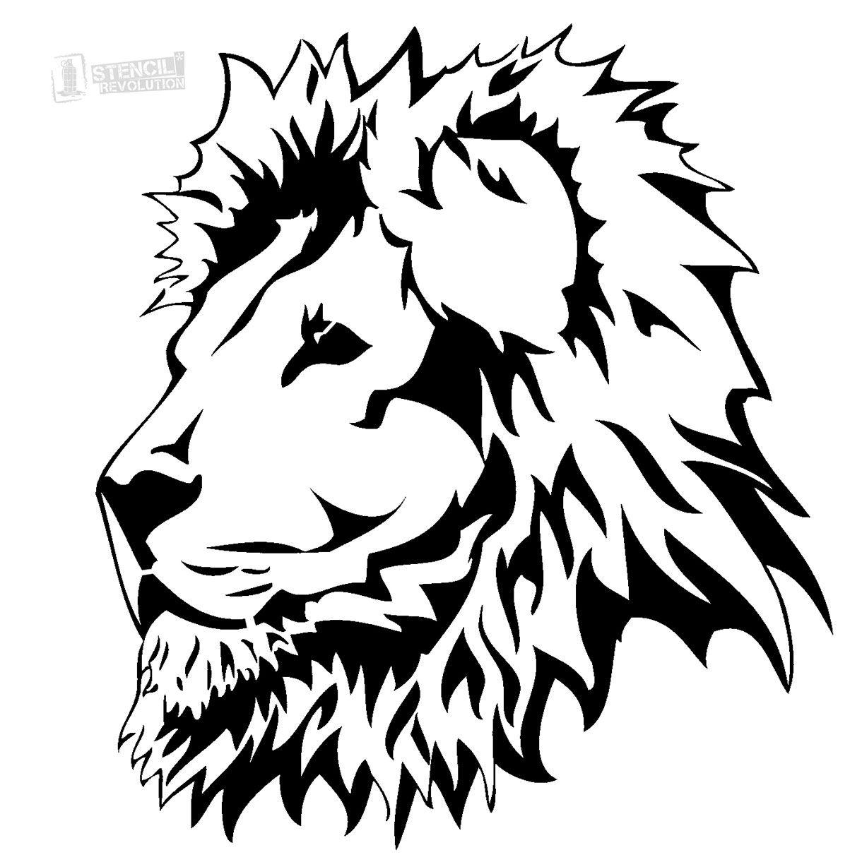 Lion Stencils Printable