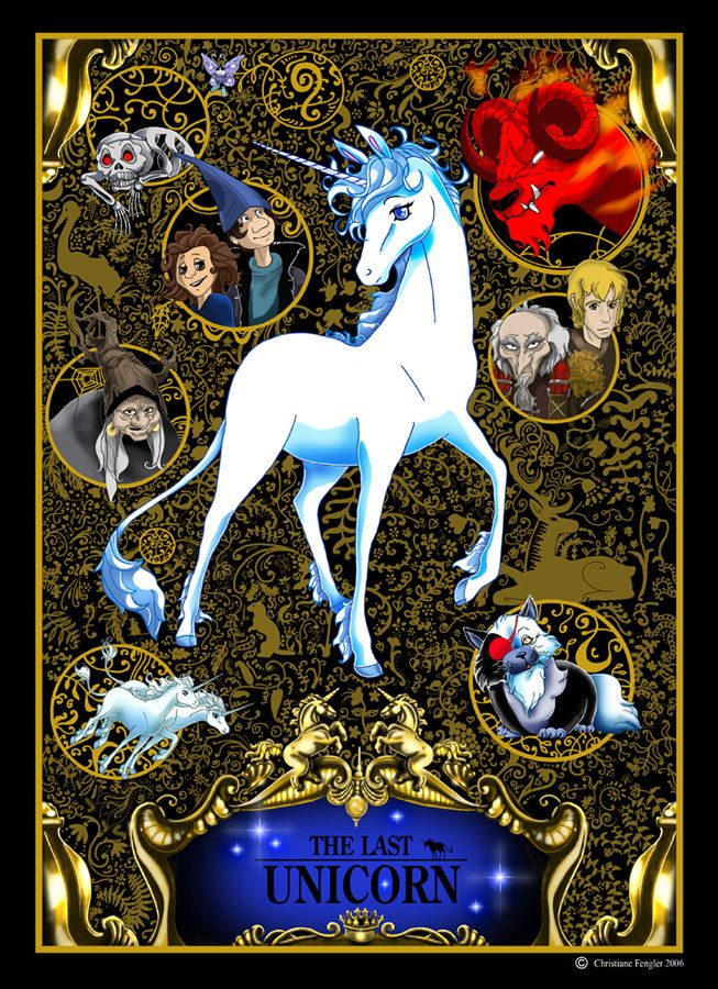 The Last Unicorn. OH MY GOD, OTHER PEOPLE HAVE SEEN OF