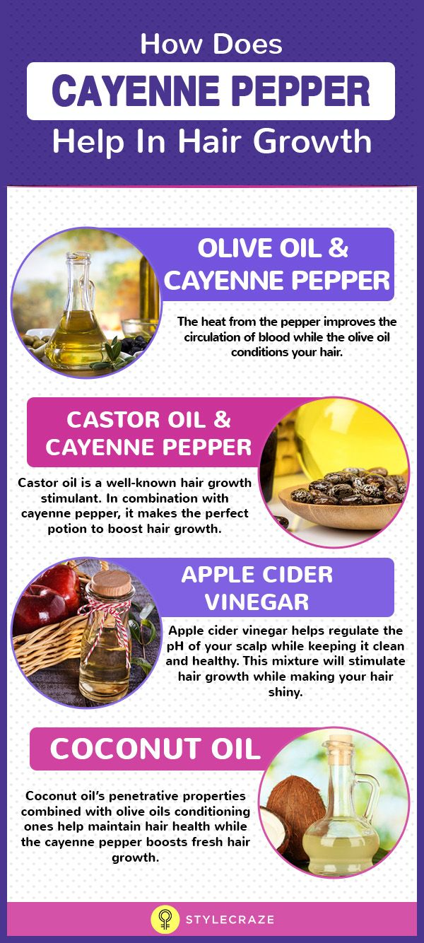 Cayenne Pepper For Hair Growth Benefits, How To Use It And Side Effects Gallery