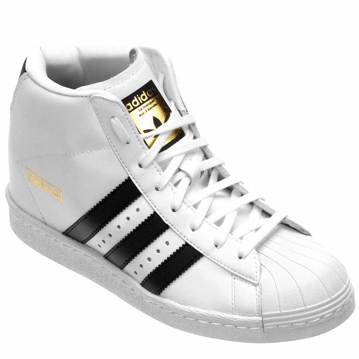 Tênis Adidas Star UP - Branco e Preto