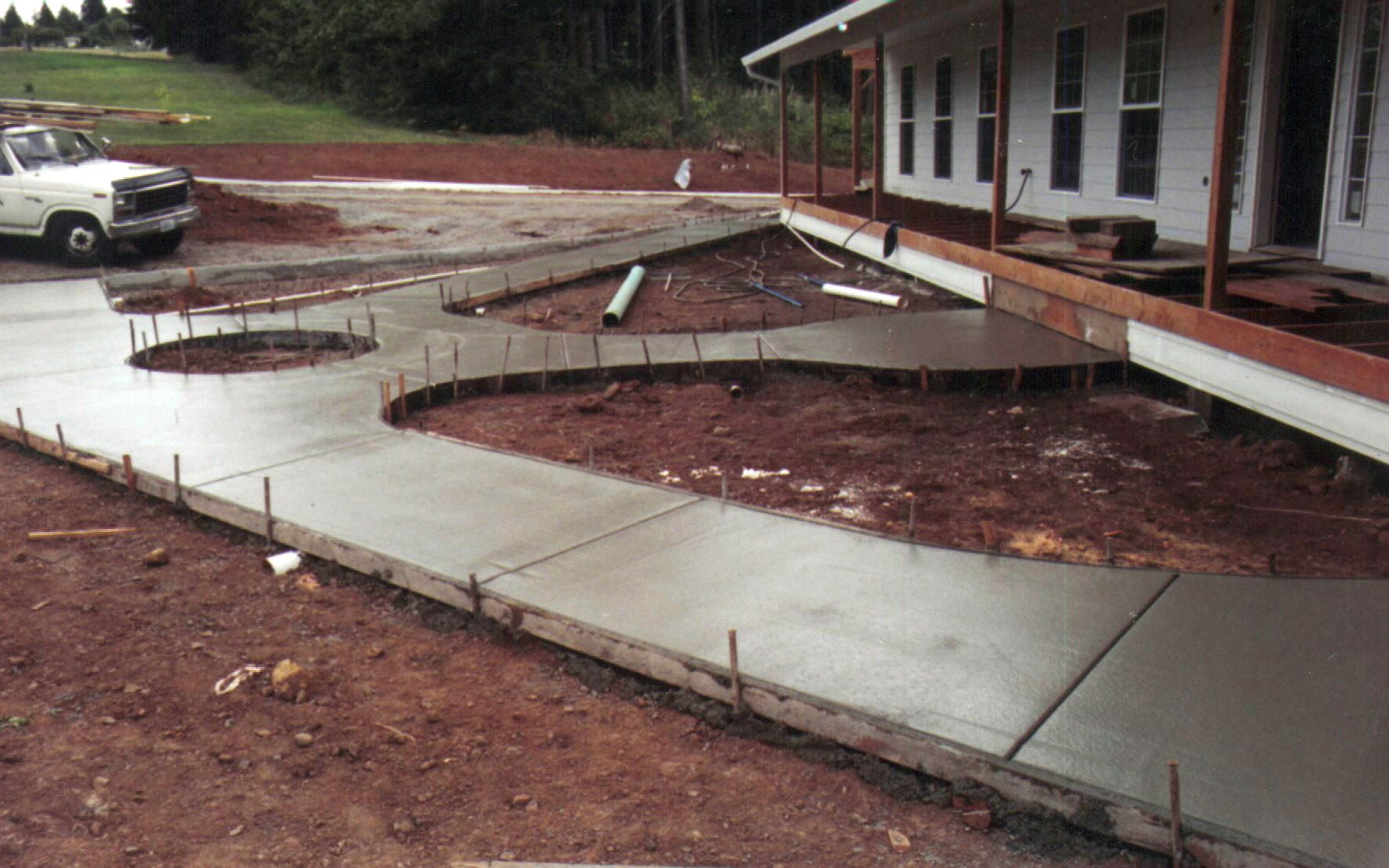 Images Of Concret Patios With Wheel Chair Ramp | New Construction Work
