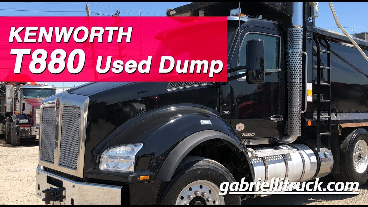 USED Kenworth T880 Tri-Axle-Dump For Sale near me | Kenworth