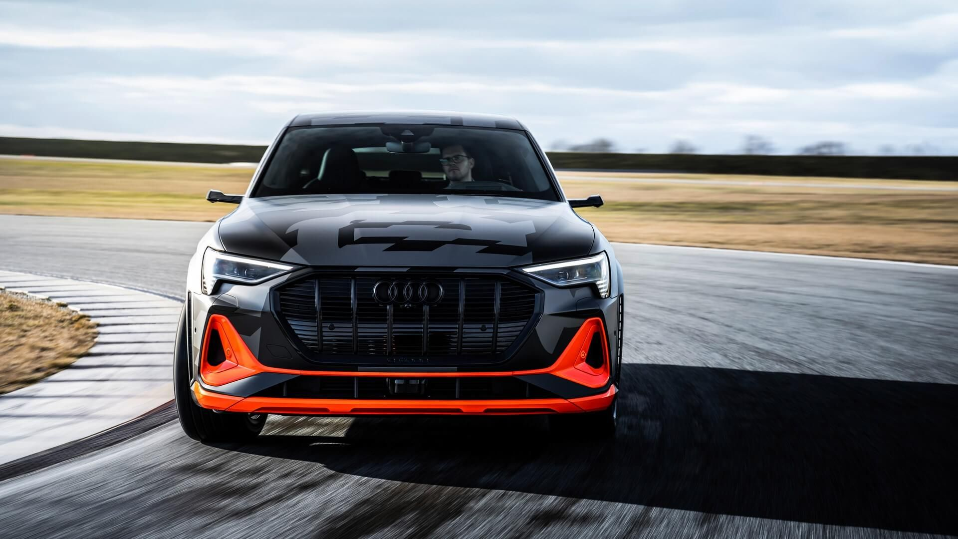 Audi ETron S Sportback Shows Off Trick Aero In New Video