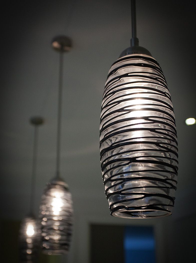 Inspiring Drop Down Lighting. This One Is Featured In A Kitchen Above The  Island Benchtop