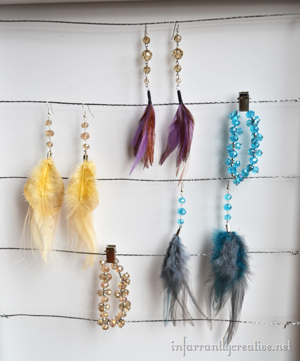 How To Make Feather Earrings Jewelry
