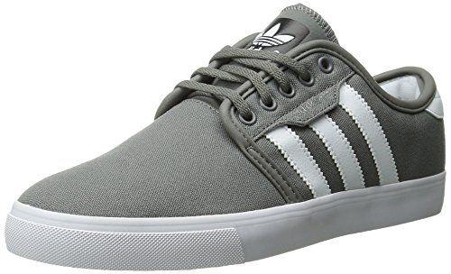adidas Originals Men's Seeley Lace Up Shoe, Mid Cinder/Running White/Black,  10 M US
