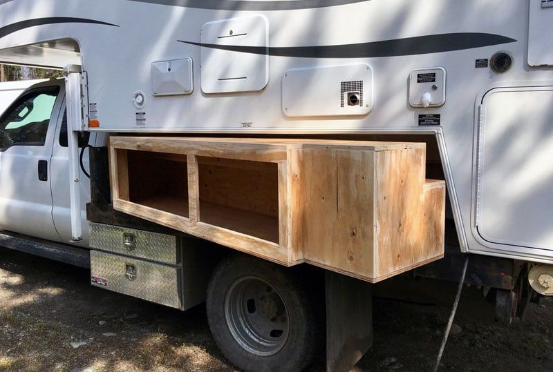 Flatbed Truck Box Storage Containers Slide In Truck Campers